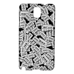 Audio Tape Pattern Samsung Galaxy Note 3 N9005 Hardshell Case