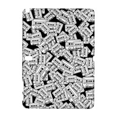 Audio Tape Pattern Samsung Galaxy Note 10 1 (p600) Hardshell Case