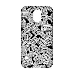 Audio Tape Pattern Samsung Galaxy S5 Hardshell Case