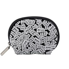 Audio Tape Pattern Accessory Pouches (small)