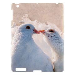 Doves In Love Apple Ipad 3/4 Hardshell Case by FunnyCow