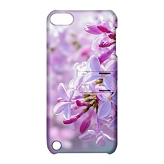 Pink Lilac Flowers Apple Ipod Touch 5 Hardshell Case With Stand by FunnyCow