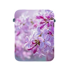 Pink Lilac Flowers Apple Ipad 2/3/4 Protective Soft Cases by FunnyCow
