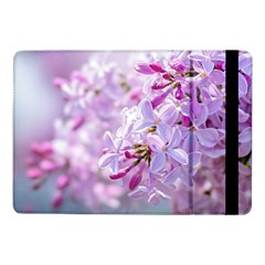 Pink Lilac Flowers Samsung Galaxy Tab Pro 10 1  Flip Case by FunnyCow