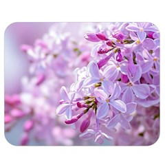 Pink Lilac Flowers Double Sided Flano Blanket (medium)  by FunnyCow