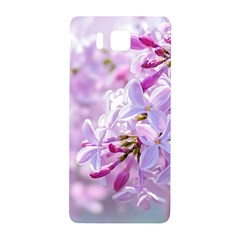 Pink Lilac Flowers Samsung Galaxy Alpha Hardshell Back Case by FunnyCow