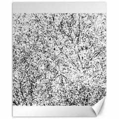 Willow Foliage Abstract Canvas 16  X 20   by FunnyCow