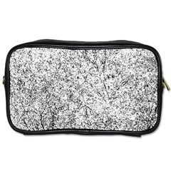 Willow Foliage Abstract Toiletries Bags 2 Side by FunnyCow