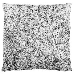 Willow Foliage Abstract Large Cushion Case (two Sides) by FunnyCow