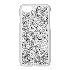 Willow Foliage Abstract Apple Iphone 8 Seamless Case (white)