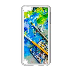 Artist Palette And Brushes Apple Ipod Touch 5 Case (white) by FunnyCow