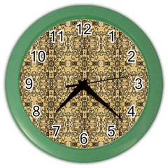 Artwork By Patrick Aztec Color Wall Clocks