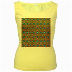 Artworkbypatrick1 3 Women s Yellow Tank Top by ArtworkByPatrick1