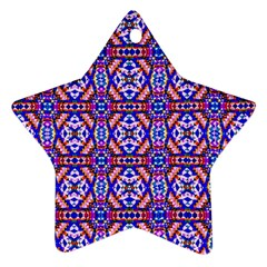 Artworkbypatrick1 5 1 Star Ornament (two Sides)