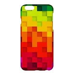 Abstract Background Square Colorful Apple Iphone 6 Plus/6s Plus Hardshell Case