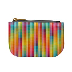 Background Colorful Abstract Mini Coin Purses