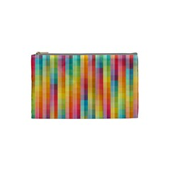 Background Colorful Abstract Cosmetic Bag (small)