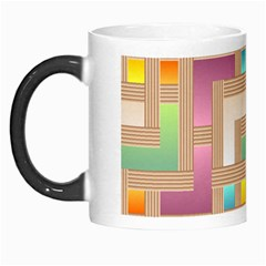 Abstract Background Colorful Morph Mugs