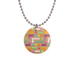 Abstract Background Colorful Button Necklaces