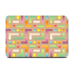 Abstract Background Colorful Small Doormat