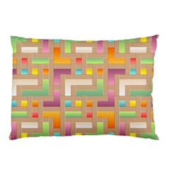 Abstract Background Colorful Pillow Case by Nexatart