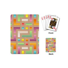 Abstract Background Colorful Playing Cards (mini)