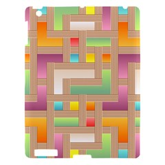 Abstract Background Colorful Apple Ipad 3/4 Hardshell Case
