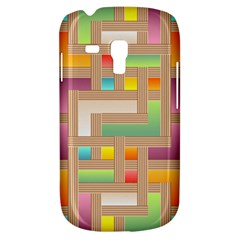 Abstract Background Colorful Samsung Galaxy S3 Mini I8190 Hardshell Case