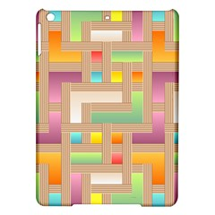 Abstract Background Colorful Ipad Air Hardshell Cases