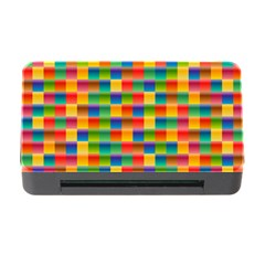 Background Colorful Abstract Memory Card Reader With Cf