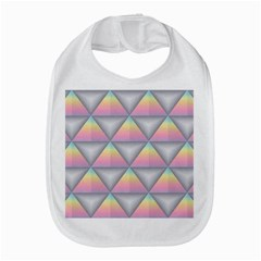 Background Colorful Triangle Bib