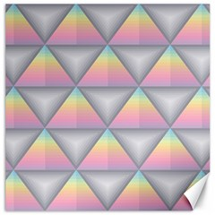 Background Colorful Triangle Canvas 20  X 20