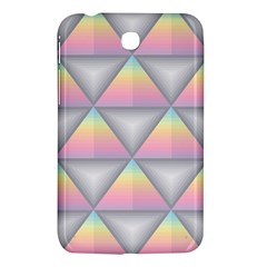 Background Colorful Triangle Samsung Galaxy Tab 3 (7 ) P3200 Hardshell Case