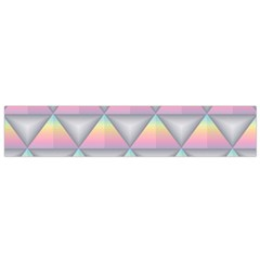 Background Colorful Triangle Small Flano Scarf