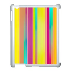 Background Colorful Abstract Apple Ipad 3/4 Case (white) by Nexatart