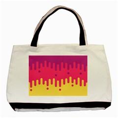 Background Image Basic Tote Bag (two Sides)