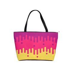 Background Image Shoulder Handbags