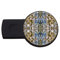 Artworkbypatrick1 10 Usb Flash Drive Round (4 Gb)