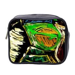 Lillies In The Terracota Vase 5 Mini Toiletries Bag 2 Side by bestdesignintheworld
