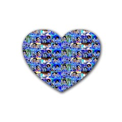 Artworkbypatrick1 12 1 Rubber Coaster (heart)
