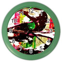 Easter 5 Color Wall Clocks