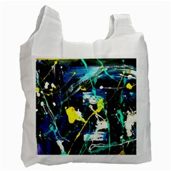 Brain Reflections 2 Recycle Bag (one Side) by bestdesignintheworld