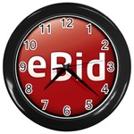 0ebid_logo1320-2 Wall Clock (Black)