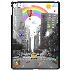 Downtown Dream Apple Ipad Pro 9 7   Black Seamless Case