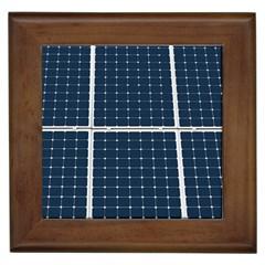 Solar Power Panel Framed Tiles