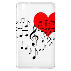 Singing Heart Samsung Galaxy Tab Pro 8 4 Hardshell Case by FunnyCow