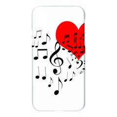 Singing Heart Apple Iphone X Hardshell Case by FunnyCow