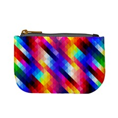 Abstract Background Colorful Pattern Mini Coin Purses