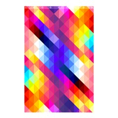 Abstract Background Colorful Pattern Shower Curtain 48  X 72  (small)