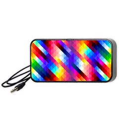 Abstract Background Colorful Pattern Portable Speaker
